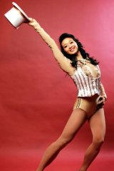 Talent is talent ... Leah Lim stars as Connie in <em>A Chorus Line</em>.