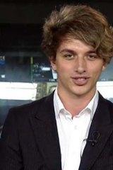Fairfax journalist Ben Grubb.