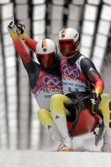 """""""Germany is on the top of the world in luge. It's our sport"""": German Luger Tobias Arlt."""