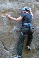 Rock climbing: Adrianne Wadewitz