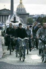 Shared approach ... a Velib bike in Paris. <i>Photo: Reuters</i>