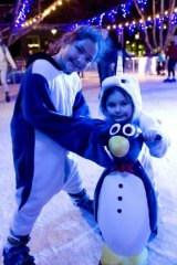 This weekend is the last few days of Skate In The City in Garema Place.