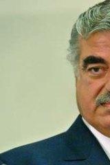Bleyer says he met former Lebanese prime minister Rafiq Hariri, who was assassinated in February 2005.