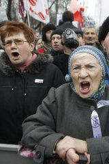 Russians of all ages are uniting in Moscow to protest the alleged rigging of the Russian Presidential election.