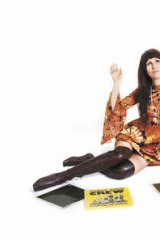 "Flower power … DJ Emma Peel's favoured vintage era is 1968-71. ""For me, dressing is like daily art, where you're the blank canvas,"" she says."
