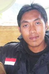 Freedoms under surveillance ... Kopassus officer Lieutenant Muhammad Zainollah, author of many of the intelligence reports obtained by the <em>Herald</em>.