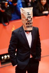 'Not Famous Anymore' ... Shia LaBeouf attends <i>Nymphomaniac Volume I (long version)</i> premiere in Berlin.