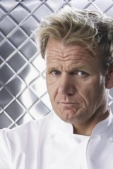 Guest chef Gordon Ramsay.