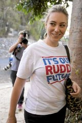"""Kevin Rudd is believed to have """"struck a deal"""" to get his daughter Jessica preselected."""