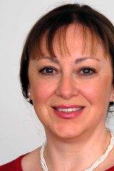 Researcher Mia Spizzica.