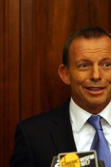 A handy diversion ... Labor is obsessed with Tony Abbott.