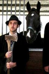 Cutting edge: Melbourne Fringe show <i>Horsehead</i>.
