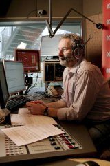Wireless affection: Radio apps are giving presenters such as 774 ABC's Jon Faine a wider audience.