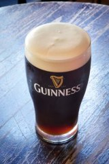 Prominent: The link between Guinness and Ireland.