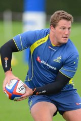 Motivated … James Slipper is determined to cement his place as a Wallabies starting prop.