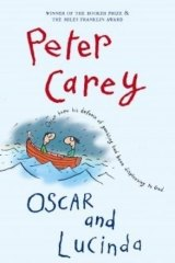 Michael Leunig's illustration appears on the cover of <i>Oscar and Lucinda</i>, by Peter Carey