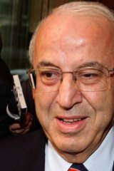 Eddie Obeid at the ICAC.