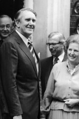 Margaret Thatcher hoped Malcolm Fraser would help her avoid having to take thousands of Vietnamese boat people.