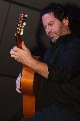 Flamenco guitarist Paco Lara.