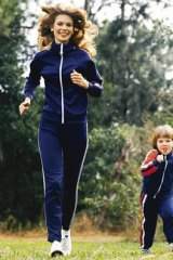 On the run … busy women need to be ready to squeeze in exercise at any time.