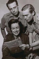 Imaginative ... Sheila Sibley began her scriptwriting career working on radio plays about nursing in the army.