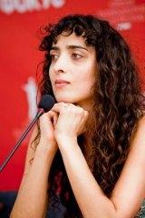 Nana Ekvtimishvili, the director of the Georgian film <i>In Bloom</i>.