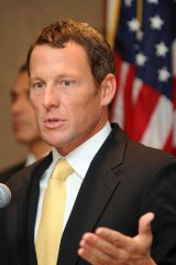 """""""500 drug controls worldwide ... never failed a test. I rest my case"""" ... a tweet from Lance Armstrong."""