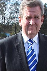Barry O'Farrell: Will allow amateur hunters into 77 national parks to kill feral animals.