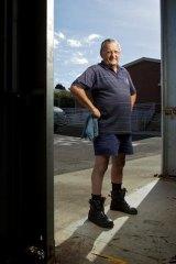 Vietnam War veteran Rod Homewood has suffered problems in employment since returning from the war.