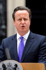 """""""The people who did this were trying to divide us"""": David Cameron."""