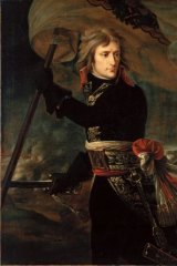 Napoleon at Pont d'Arcole by Antoine-Jean Gros (1796).