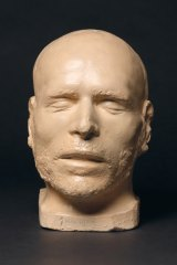 Sideshow Alley: George Melville Death Mask, c.1853 maker unknown