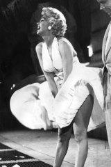 Marilyn Monroe: Blonde bombshell.