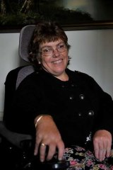 Karen Hiam has cerebral palsy and lives  on a disability support pension.