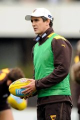 Leon Cameron at Hawthorn.