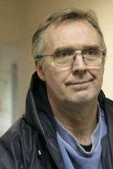 Greenpeace International Radio operator Colin Russell.