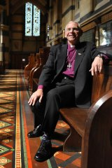 Bishop Mark Burton, the new dean of St Paul's Anglican Cathedral, says young people are overwhelmed by the language used to talk about the global financial crisis.