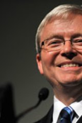 Earnings assessed ... The wealth of Prime Minister Kevin Rudd was calculated at $56 million by BRW.