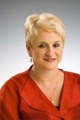 Marie Ficarra … ''throat-slitting'' gesture alleged.