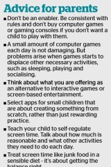 How parents should deal with screens in their children's life.