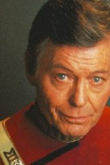 Dr Leonard McCoy in Star Trek played by DeForrest Kelley.