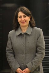 """Gladys Berejiklian: """"The certainty provided by the federal Coalition in relation to transport funding is a welcome relief""""."""