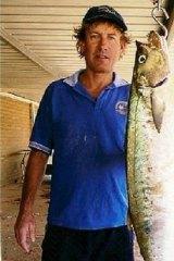 Shark attack victim Greg Pickering.