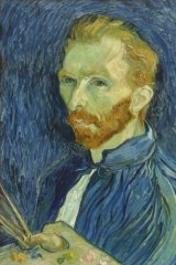 Vincent van Gogh, Self-portrait, 1889, oil on canvas, 57.8 x 44.5cm, National Gallery of Art, Washington, DC. Copyright courtesy National Gallery of Art, Washington.