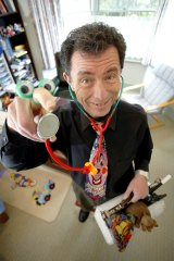Send in the clowns: Dr Peter Spitzer.