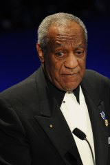 Bill Cosby received a standing ovation at a performance in Florida on Friday night.
