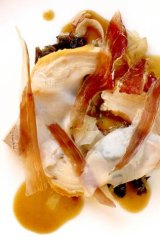 Claude's go-to dish, Buddha jumps over the wall (chicken, abalone, jamon, black fungus and red fermented tofu).
