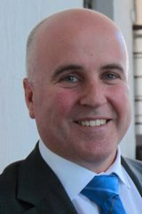 At odds: Adrian Piccoli (pictured) and Christopher Pyne.