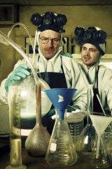 Winning formula: <i>Breaking Bad</i>'s Bryan Cranston and Aaron Paul.