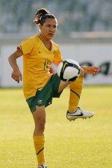 Matildas player Lisa De Vanna